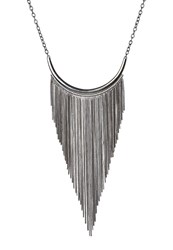 Vero Moda Vmmia Necklace Silvercoloured Gunmetal
