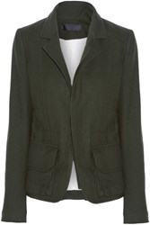 Haider Ackermann Wool Jacket Dark Green
