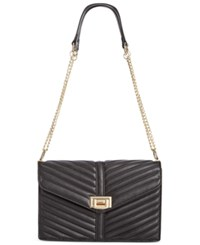 Inc International Concepts Yvvon Turnlock Crossbody Only At Macy's Black