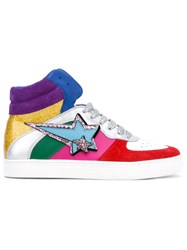 Marc Jacobs Eclipse Hi Top Sneakers Women Leather Suede Rubber 36