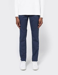 Norse Projects Aros Slim Light Twill In Navy