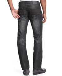 Inc International Concepts Slim Straight Jeans Created For Macy's Black