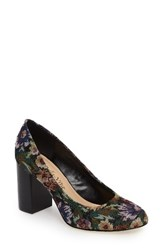 Bella Vita Women's 'Nara' Block Heel Pump Tapestry Fabric