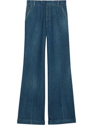 Gucci High Waist Jeans Blue