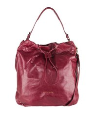 Cole Haan Stagedoor Small Studio Bag Cabernet