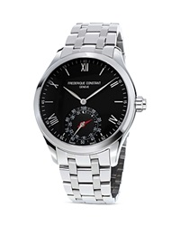 Frederique Constant Horological Smart Watch 42Mm Black Silver