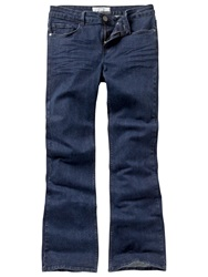 Fat Face Smithy Bootcut Overdyed Jeans Blue