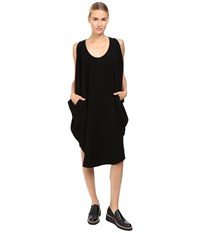 Limi Feu Sleeveless Drape Top Black Women's Clothing