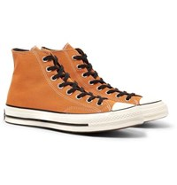 Converse 1970S Chuck Taylor All Star Canvas High Top Sneakers Orange