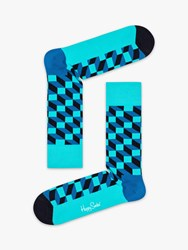 Happy Socks Filled Optic One Size Blue