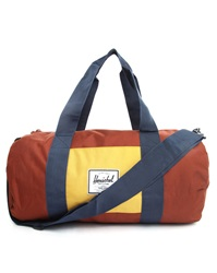 Herschel Blue And Red Sutton Mid Sports Bag
