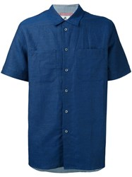 Paul Smith Ps By Short Sleeve Shirt Blue
