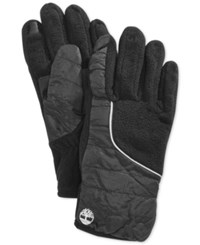 Timberland Puff Coat Touch Screen Glove Black