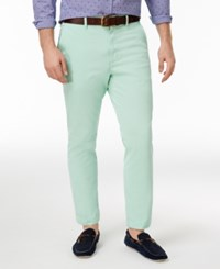 Club Room Men's Slim Fit Stretch Chinos Only At Macy's Garden Mint