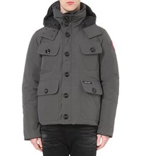 Canada Goose Selkirk Padded Shell Parka Graphite