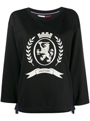 Hilfiger Collection Hcw Crest Football Tshirt Ls 60