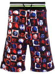 Frankie Morello Photo Print Track Shorts 60