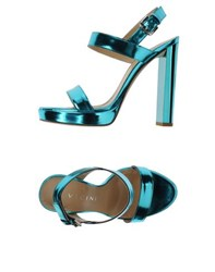 Vicini Tapeet Footwear Sandals Women Turquoise