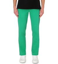 Ralph Lauren Greenwich Cotton Trousers 32 Cruise Green