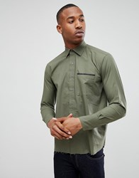 Bolongaro Trevor Tape Pocket Shirt Green