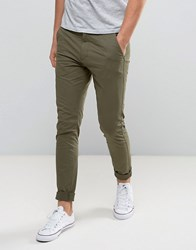 Dr. Denim Dr Heywood Slim Taper Chino Utility Green Green