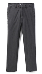 Brooklyn Tailors Sun Faded Linen Chinos Graphite