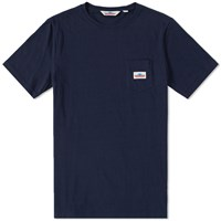 Penfield Label Pocket Tee Blue