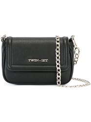 Twin Set Small Shoulder Bag Black