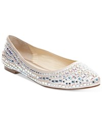 Betsey Johnson Coco Evening Flats Women's Shoes Champagne