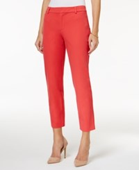 Charter Club Petite Cropped Pants Only At Macy's Crushed Coral