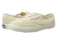 Keds Champion Crochet Natural Women's Lace Up Casual Shoes Beige