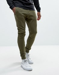 Only And Sons Super Skinny Jogger Olive Night Green