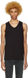 Alexander Wang T By Black Pocket Tank Top