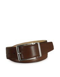Moreschi Eton Brown Leather Belt