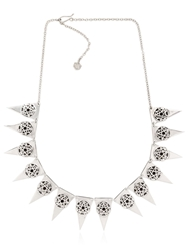 Meadowlark Layered Necklace Silver