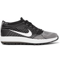 Nike Golf Flyknit Racer Golf Shoes Black