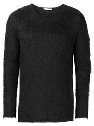 Alyx Textured Crewneck Sweater Black