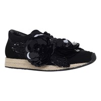 Kurt Geiger Langham Suede Sports Shoes Black