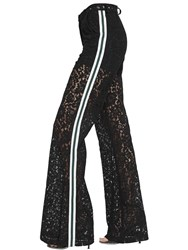 Ainea Flared Lace Track Pants