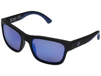 Spy Optic Hunt Matte Black Navy Happy Bronze Polar Dark Blue Spectra Athletic Performance Sport Sunglasses