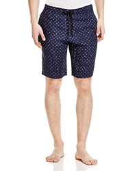 Michael Kors Batik Diamond Pajama Shorts Midnight