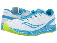 Saucony Freedom Iso Ocean Wave Women's Shoes Blue