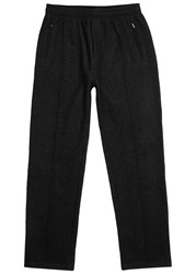 Our Legacy Black Textured Jogging Trousers
