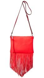 Rebecca Minkoff Fringe Jon Cross Body Bag Dragon Fruit