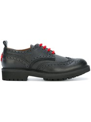 Givenchy Brogue Detail Derby Shoes Black