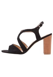 Pier One High Heeled Sandals Black