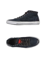 Htc High Tops And Trainers Dark Blue
