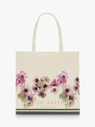 Ted Baker Ancon Neopolitan Icon Large Shopper Bag Ivory
