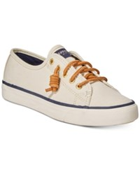 Sperry Women's Seacoast Canvas Sneakers Women's Shoes Ivory