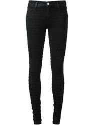 Brocken Bow Distressed Effect Skinny Jeans Black